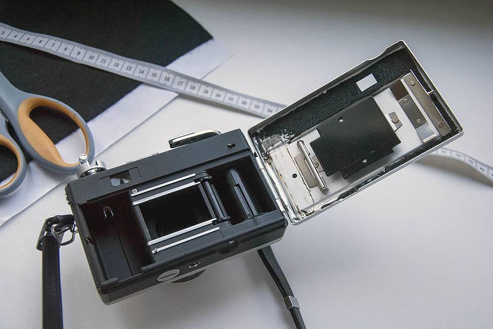 Otevřený foťák Ricoh 500G